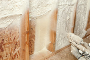Spray Foam Insulation by Town Building Systems
